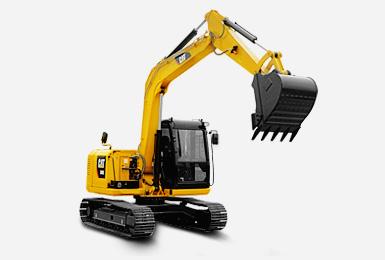 卡特微型挖掘机