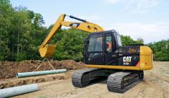 【卡特313D2L】卡特彼勒313D2 L 小型挖掘机