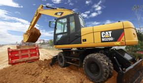 卡特彼勒M320D2轮式挖掘机