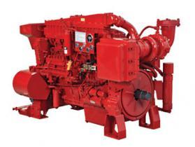 消防泵发动机