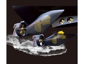 双鱼鳍推进系统