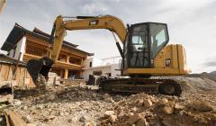 【卡特307.5】新一代卡特彼勒307.5微型挖掘机