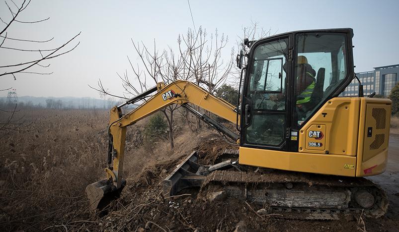 【卡特306.5】新一代卡特彼勒306.5微型挖掘机
