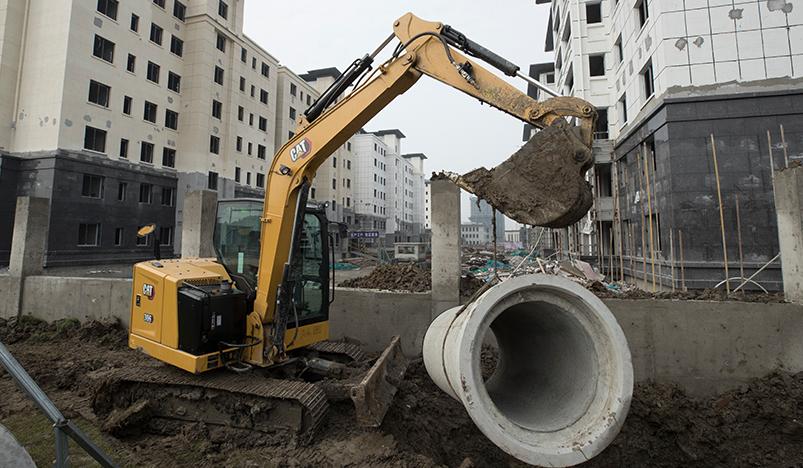 【卡特306】新一代卡特彼勒306微型挖掘机